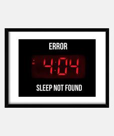 Error sleep print
