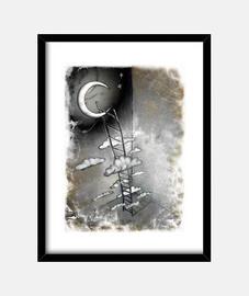 escalier à la lune