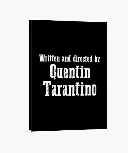 Lienzo escrito y dirigido por quentin tarantin