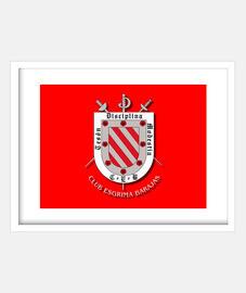 Escudo Club Esgrima Barajas Rojo
