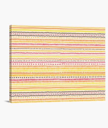 Stampa su tela estate pattern (rettangolare)