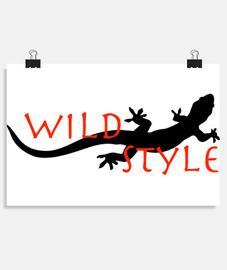 estilo salvaje el lagarto