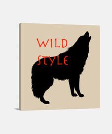 estilo salvaje el lobo