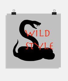 estilo salvaje la serpiente