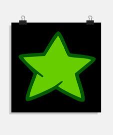 Estrella verde