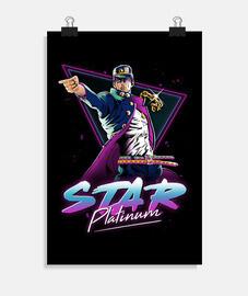 étoile platine