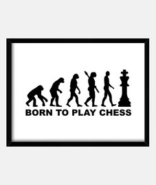 Evolution born to play chess
