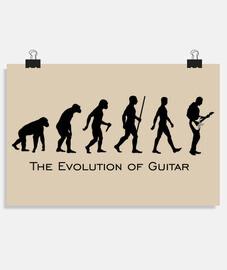 Evolution Guitar Black