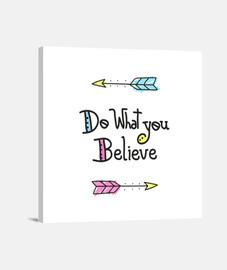fai quello che credi