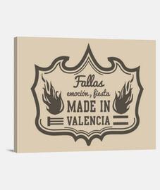 Fallas made in valencia