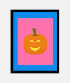 feliz halloween de calabaza