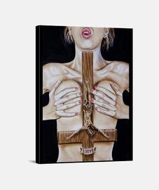 Fervor - Copia impresa en lienzo de la obra
