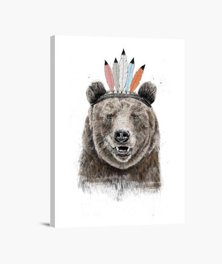 Lienzo festival oso