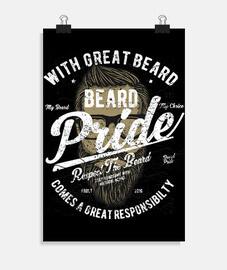 fierté de la barbe