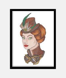 fille steampunk