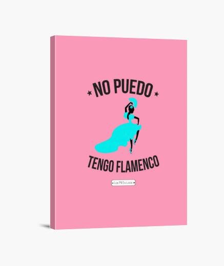 Lienzo Flamenca