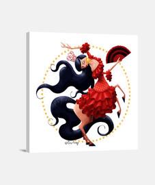 Flamenca - Lienzo