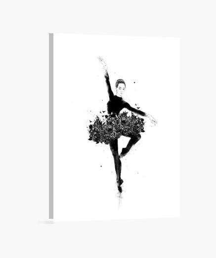 Floral dance canvas