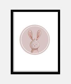 forest portrait - rabbit
