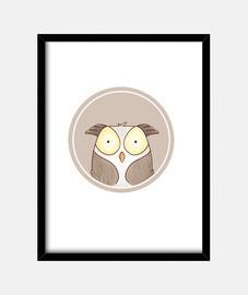 forêt portrait - owl