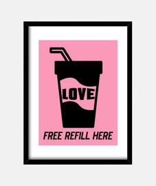 free refill love negro