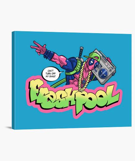 Lienzo Fresh Pool (cool colors)