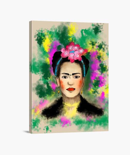 Tableau Frida Kahlo Tostadora Fr