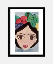 Frida Kahlo (30 x 40 cm)