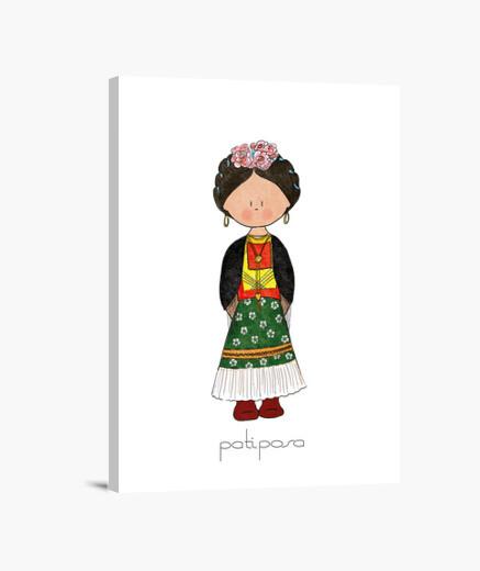 Frida Kahlo. Lienzo