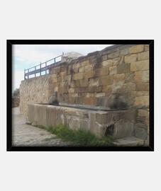 Fuente de la Breña Extremadura cuadro