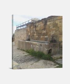 Fuente de la Breña Extremadura lienzo