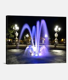 Fuente de luz. Lienzo Horizontal 4:3 - (40 x 30 cm)