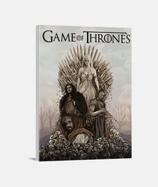 Game of Thrones juego de tronos cuadro jon snow