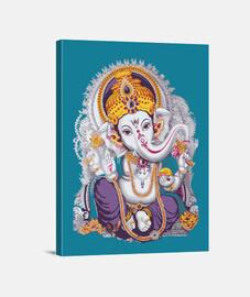 Ganesh Lienzo Vertical 3:4 - (30 x 40 cm)