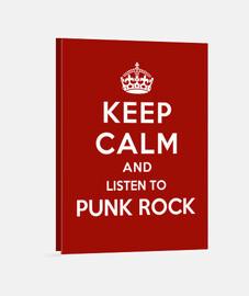 garder calme et écouter de punk rock