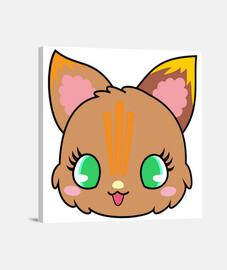 gatito marron