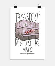 Gilipollas, poster