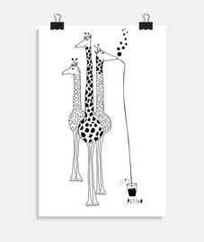 girafe ivre