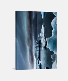 Glaciar en deshielo