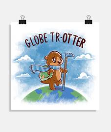 globe trotter - affiche