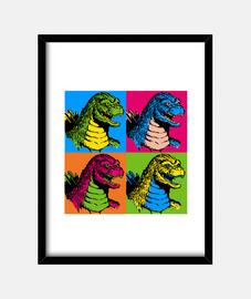 Godzilla rey del pop