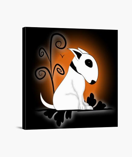 Lienzo Gotic Bull Terrier