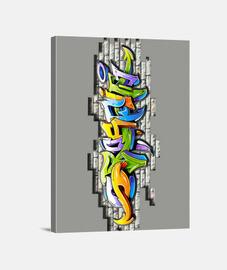 Graffiti en el muro