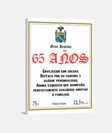 Gran Reserva 65 años