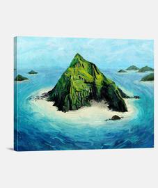grande île tropicale