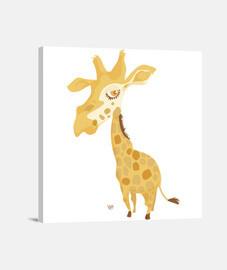 grande testa giraffe