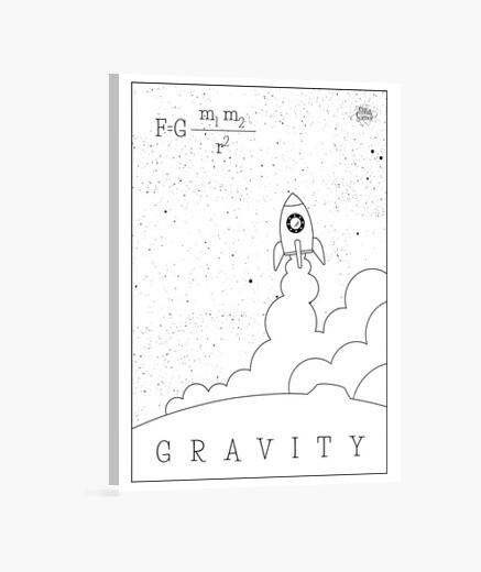 Lienzo Gravity