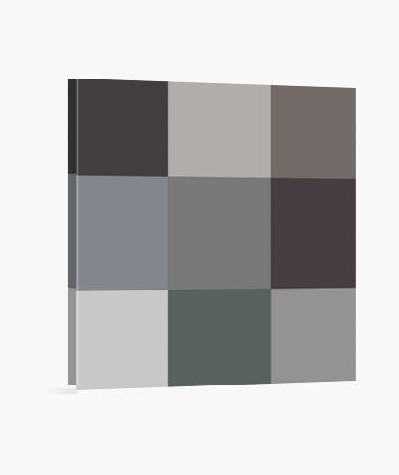Lienzo Gray squares