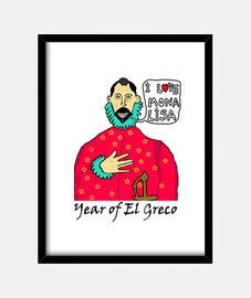 Greco Love Mona Lisa