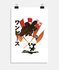 grève Luffy